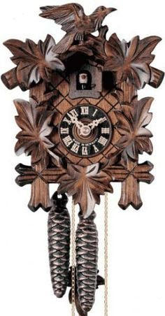 I've been wanting a German cuckoo clock for my living room and I want this one, it's exactly like the one I grew up with.