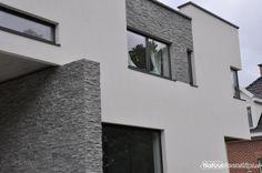 Flagstones kopen - Alle soorten bij The Flagstone Company Flagstone, Modern Architecture, Future House, Color Schemes, Construction, Nice, Brick Facade, Sheet Metal, Facades