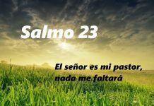 El Salmo del pastor