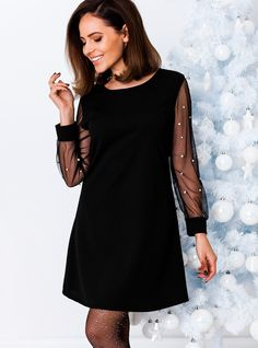 Sukienka Natasha - czarna