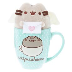 Pusheen Mug Plush Gift Set