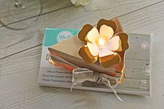 Other: Light up floral wedding favour - adorable wedding favor with a light up element!
