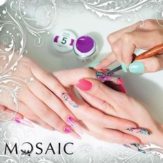 For online orders, please visit www.susansnailstore.co.uk Nail Technician, Nail Artist, Mosaic, Nails, Finger Nails, Ongles, Mosaics, Nail, Mosaic Art