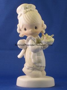 There Is Joy In Serving Jesus - Precious Moment Figurine - $24.99