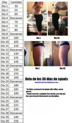 TU SALUD: Reto de 30 días de squats para muslos y glúteos firmes