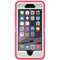 iPhone 6 Plus Case Compare to OtterBox Defender Series  - Pink/White by iProtect on Opensky