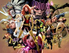 X-Men by Greg Land