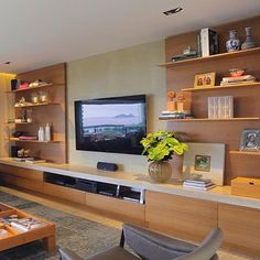 Family Room Design Pictures Remodel Decor And Ideas Page 123 Entertainment Wall