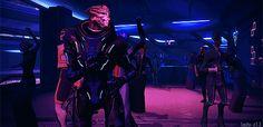 Garrus from Mass Effect