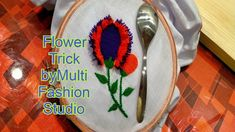 Hand Embroidery Tricks, Super Easy Flower Embroidery, Amazing Flower Ide... Hand Embroidery, Embroidery Designs, Flower Embroidery, Fashion Studio, Amazing Flowers, Super Easy, Bb