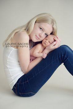 beautiful #newborn #sister
