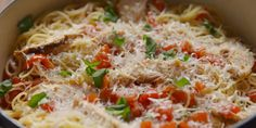 Best Bruschetta Chicken Pasta Recipe - How To Make Bruschetta Chicken Pasta