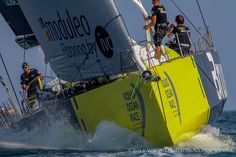 The 2014-15 Volvo Ocean Race takes the 7 teams to 11 cities in 11 countries, beginning October 4, 2014 in Alicante, Spain and finishing June 27, 2015 in Go