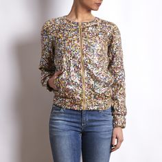 Hoss Intropia Embroidered Multicolor Jacket