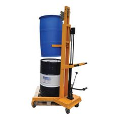 Model DL450Y #Drum #Lifter CE marked and plated Designed to carry full or empty 210 litre #steel or #plastic drums Foot operated #hydraulic #pump Lifts a drum 1070mm off the ground This unit smoothly lifts the drum which is held firm by the clamp See more at: http://shop.hsil.co.uk/p-4759-drum-lifter.aspx#sthash.njQGcKAd.dpuf