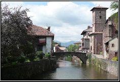 Saint-Jean-Pied-de-Port - la Nive et Notre-Dame du Bout du Pont