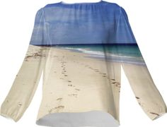 Beach Silk Top - Available Here: http://printallover.me/collections/sondersky/products/0000000p-beach-24