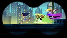 Those jerks they are totally going to fight Mr Freeze without me >:( Supergirl Dc, Batgirl, Gotham Girls, Dc Super Hero Girls, Nerd Humor, Cartoon Shows, Dc Universe, Cartoon Network, Dc Comics