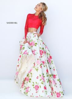 This is so adorable! I don't know where I would wear it, but I want it. Sherri hill 50261