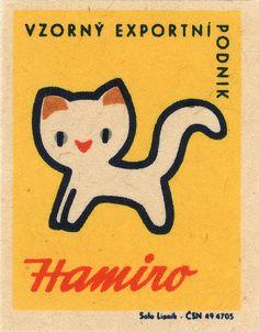 :) more awesome Czech matchbox labels from Maraid via Fl. Pub Vintage, Vintage Cat, Vintage Labels, Vintage Posters, Illustrations Vintage, Illustration Art, Design Illustrations, Illustrations Posters, Funny Commercials