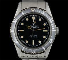 ROLEX S/S MATTE BLACK DIAL JAMES BOND VINTAGE SUBMARINER 6536-1  http://www.watchcentre.com/product/rolex-s-s-matte-black-dial-james-bond-vintage-submariner-6536-1/5249