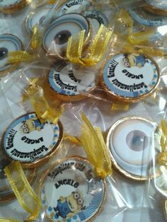 party favors money chocolate minions