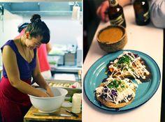 Tacos being made at Candelaria in Paris. Paris Images, Mexican Food Recipes, Ethnic Recipes, Paris Shopping, New Paris, Paris Travel, Tex Mex, Paris France, Tacos