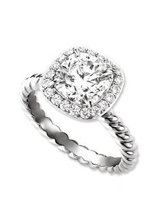 http://rubies.work/0705-multi-gemstone-ring/ David Yurman engagement ring. Be still my heart. I would absolutely die.