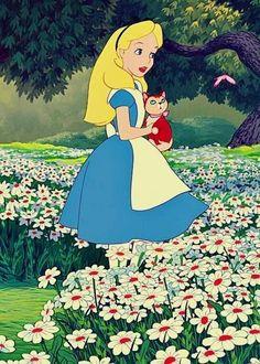 Alice in Wonderland via www.Facebook.com/DisneylandForMisfits