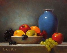 Still Life with Blue Bowl and Fruit