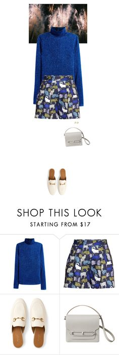 """""""Outfit of the Day"""" by wizmurphy ❤ liked on Polyvore featuring H&M, Gucci, Christian Dior, ootd and HM"""
