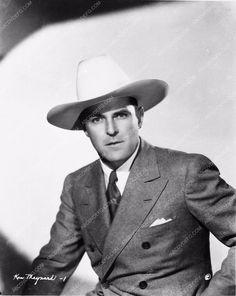 photo cowboy western star Ken Maynard portrait 3414-26