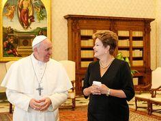 Encontro de Dilma Rousseff com o Papa Francisco - Jornal Manchete Digital Notícias