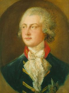 George (Augustus Frederick; 1762-1830), the Prince of Wales and later King of the United Kingdom, 1782 by Thomas Gainsborough