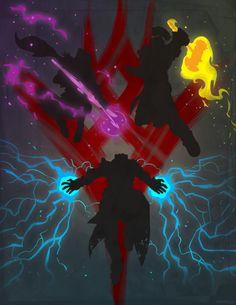 New Subclasses Artwork - The Taken King