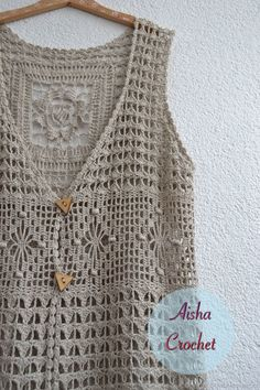 VK is the largest European social network with more than 100 million active users. Crochet Vest Pattern, Crochet Jacket, Crochet Art, Crochet Cardigan, Filet Crochet, Crochet Stitches, Japanese Crochet Patterns, Crochet Designs, Crochet Clothes