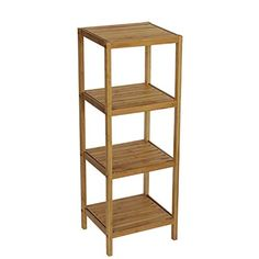 Made from eco-friendly bamboo, this Gallerie Decor Bamboo Natural Spa 4 Shelf Tower is a bathroom space-saver. Handcrafted, the four-shelf tower. Decor, Bamboo, Bathroom Space Saver, Amazing Bathrooms, Shelves, Luxury Bathroom Master Baths, Bathrooms Remodel, Mattress Furniture, Bathroom Shelves