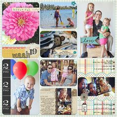 Project Life layout by Krista Lund