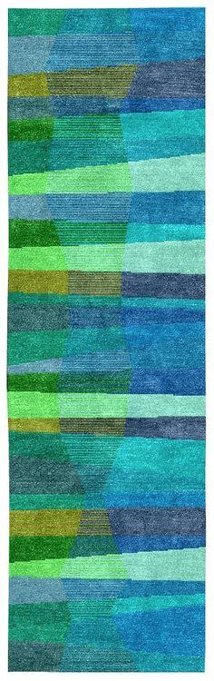 STAIRWAY - 3 x 10 wool runner @ dougandgene.com
