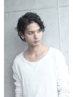 ガズル 原宿(GUZZLE HARAJUKU) アンニュイメンズミディアム Casual Hairstyles, Hairstyle Short, Barber Man, Mens Perm, Fashion Art, Mens Fashion, Hair Designs, Cute Guys, Men's Hair