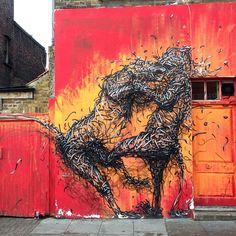 Brick Lane  Work by @daleast   London   UK