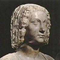 Portrait mortuaire de Claude de France par Bontemps