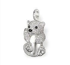 eacf9963d6c Thomas Sabo Diamond Polar Bears With Ice Crystal Pendant From  Crystaljewelryuk.com Pendant Jewelry