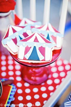 Circus Train Big Top Carnival Birthday Party