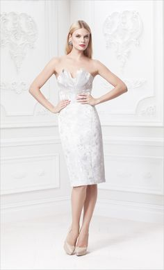 Truly Zac Posen Wedding Gowns At David S Bridal Rehearsal Dinner