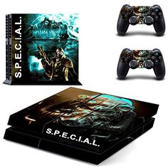 Generic PS4 Designer Skin for Sony PlayStation 4 Console System plus Two2 Decals for PS4 Dualshock Controller  Fallout4 special >>> You can get additional details at the image link.Note:It is affiliate link to Amazon.