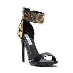 95dad6285c8 MAGNITDE LEOPARD MULTI women s dress high ankle strap - Steve Madden