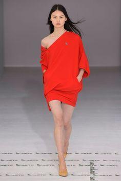 45881028df Tendance mode été 2018 robe polo rouge Lacoste Colorful Fashion, Big Fashion,  Fashion News