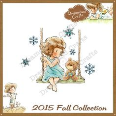 Dreamerland Crafts Cling Stamp - Together For The Holidays
