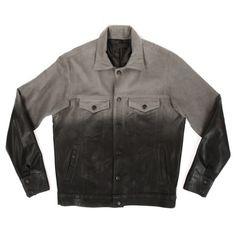Wax Gradient Riders Jacket